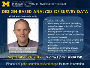 poster for Design-Based Analysis of Survey Data