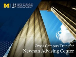 Cross-Campus Transfer Title Image