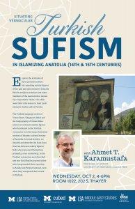 Situating Vernacular Turkish Sufism in Islamizing Anatolia (14th & 15th Centuries)