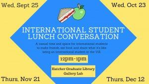 International Student Lunch Conversation