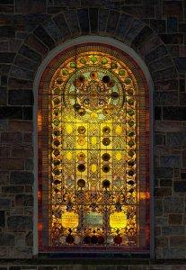 Tiffany stained-glass window
