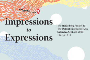 Art Outta Town: Impressions to Expressions Graphic