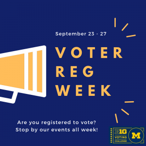 Voter Reg Week