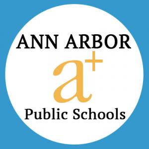 Ann Arbor Public Schools with a+ logo