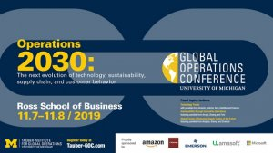 Global Operations Conference Nov 7-8