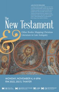 The New Testament and Other Books: Mapping Christian Literature in Late Antiquity