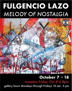 Melody of Nostalgia (featuring brightly colored work in acrylic)