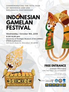 Indonesian Gamelan Festival