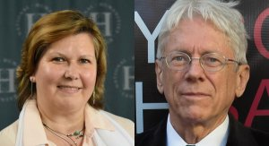 Olga Dror (left) and Keith W. Taylor