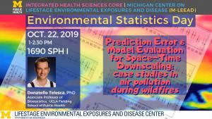 Donatello Telesca Environmental Statistics Day Lecture