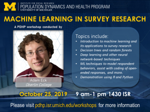 Machine Learning in Survey Research poster