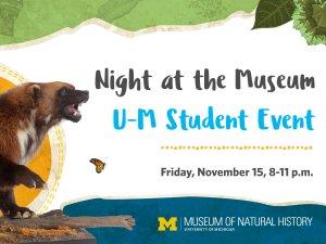 UMMNH Student Night
