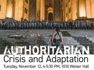 Authoritarian Crisis and Adaptation