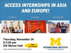 Access International Internships