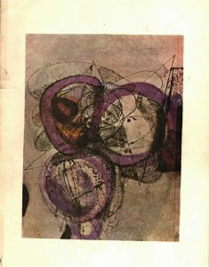 Cover of Crossroads («Քառուղի»), Vahé Oshagan, Beirut, 1971. Painter: Vahé Barsoumian