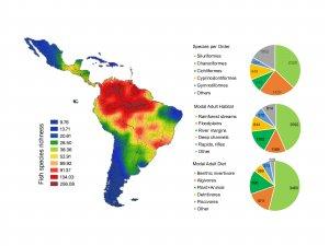 Dr. James Albert map of distribution