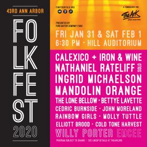 43rd Annual Ann Arbor Folk Festival