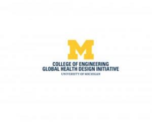 Global Health Design Initiative block M logo