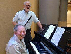 Photograph of Dave Gitterman & Ralph Katz by Ronnie Simon