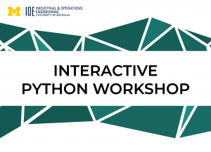 """""""Interactive Python Workshop"""" text"""