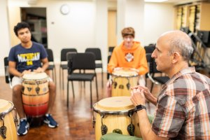 Gould Drumming