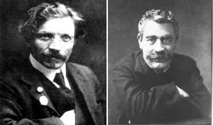Portraits of Aleichem & Peretz
