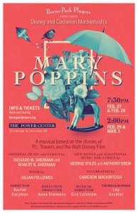 Burns Park Players present Mary Poppins