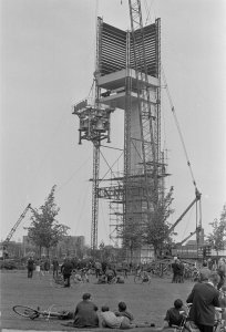 Construction of the Philips Carillon for Philips Electronics in Eindhoven, the Netherlands (1966)