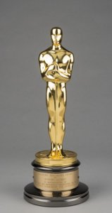 Robert Altman's Honorary Oscar, awarded in 2006. Special Collections Research Center
