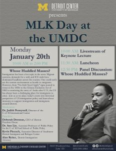 MLK Day at the UMDC 2020