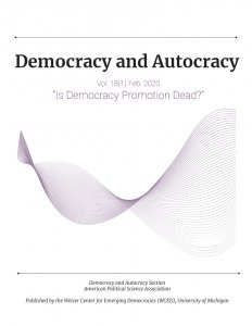 Democracy and Autocracy cover