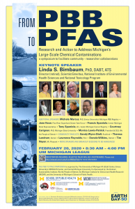 PBB to PFAS symposium Feb 20 2020