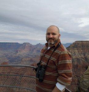 Corey Welch at Grand Canyon