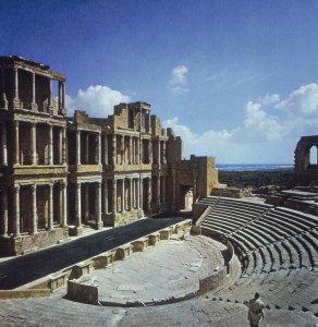 Roman theater at Sabratha, Libya