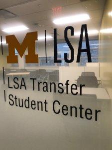 LSA Transfer Student Center