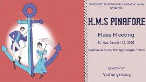 HMS Pinafore Meeting Poster