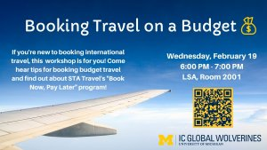 Booking Travel on a budget