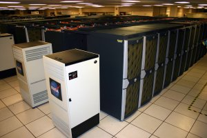 The Pleiades Supercomputer which some of the models Professor Arbic uses runs on. (NASA)