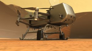 The Dragonfly rotorcraft lander