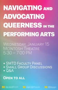 Navigating and Advocating Queerness in the Performing Arts