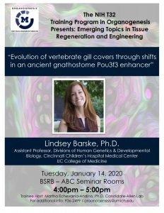 Dr. Barske Seminar Flyer
