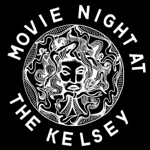 Movie Night at the Kelsey sticker