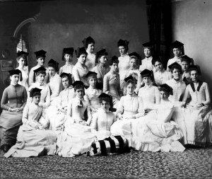 Women graduates, LSA 1889