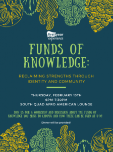 Funds of Knowledge Flyer
