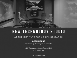 Tech Studio Open House at ISR