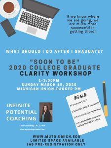 2020 College Graduate Clarity Workshop Presented by Infinite Potential Coaching