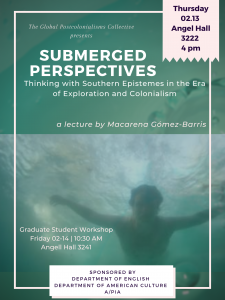 Poster for lecture