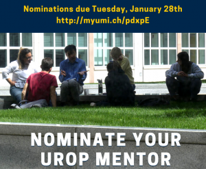 UROP Mentor Nomination