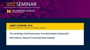 LSI Cancer Genetics Seminar, Feb. 17