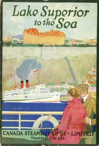 Lake Superior to the sea: an inland water voyage on the Great Lakes and far-famed St. Lawrence and Saguenay Rivers (1910). Special Collections Research Center.